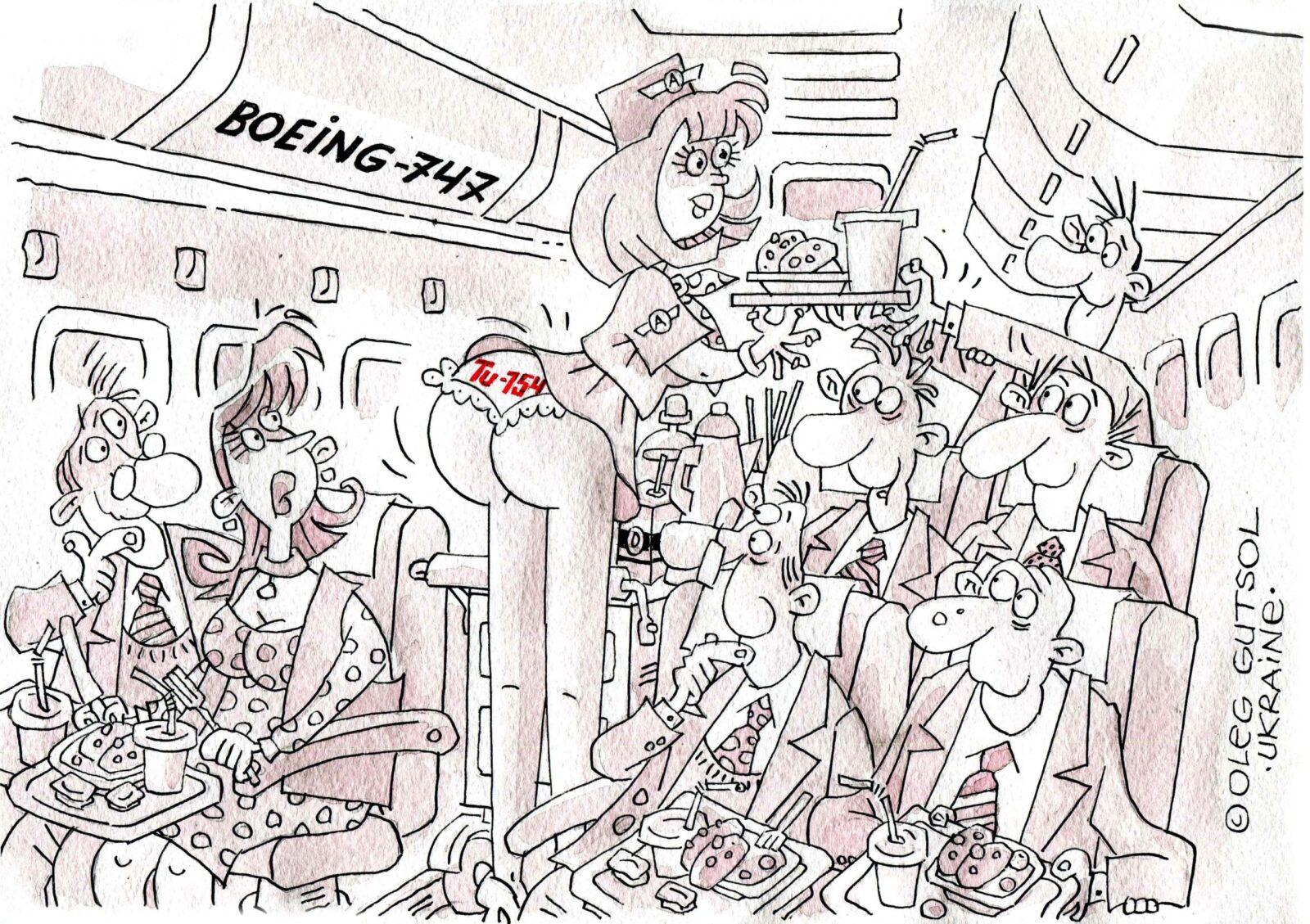 """Карлюка у Космосі. П'ять років разом!!! Спільний проект Української асоціації карикатуристів """"Карлюка"""" та Полтавського музею авіації і космонавтики, віртуальна виставка"""